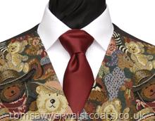 Boys Necktie available in a choice of over 50 colours