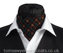 Richmond Check Day Cravat (Self-Tie)