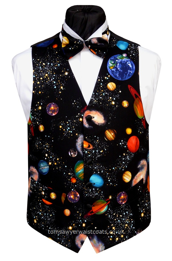 : Hot Offers! : Planets Waistcoat