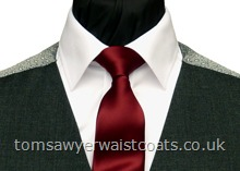Order the featured neckwear here. Our picture shows the following:- Style- Necktie- Colour- Burgundy (F4)- Fabric- Satin- Save 15% when you order 6 or more men's neckties in the same colour & fabric!