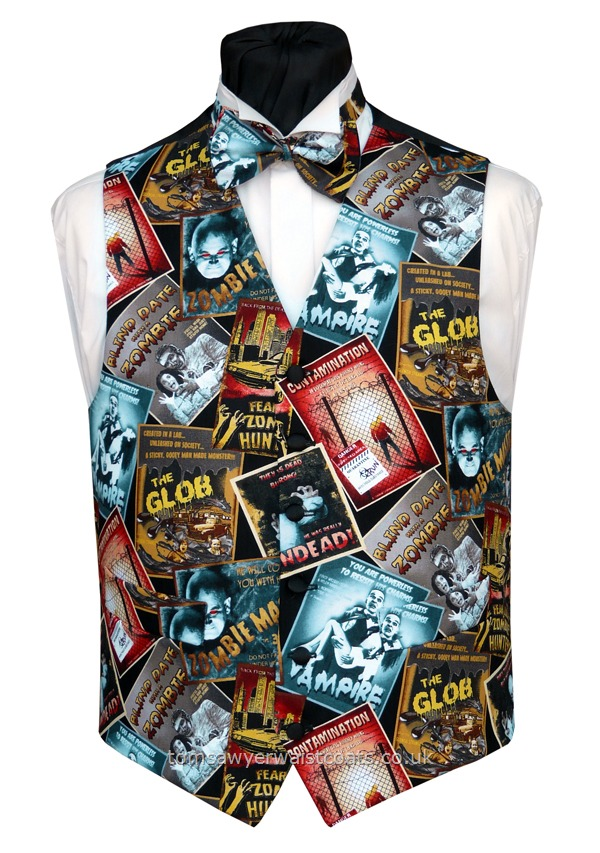 Horror Movie Posters Waistcoat