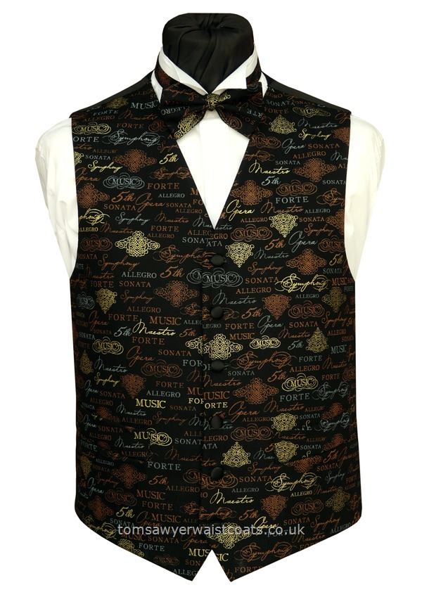 'Language of Music' Waistcoat