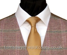 Order the featured neckwear here. Our picture shows the following:- Style- Necktie- Colour- Beige (F12)- Fabric- Satin-
