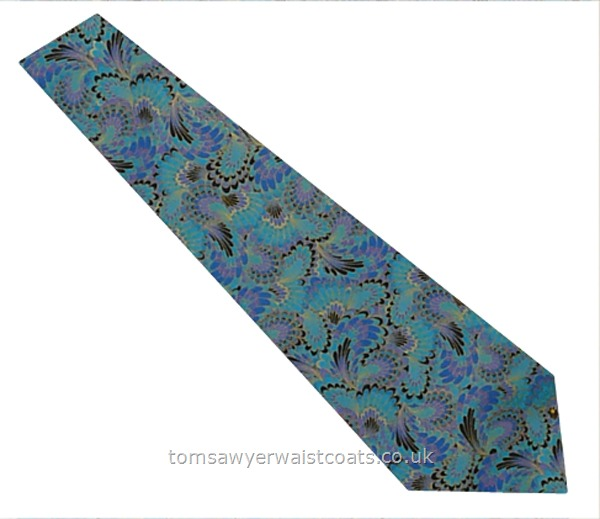 Neckwear : Neckties (Self-tie) : Feathers and Wings Cotton Necktie