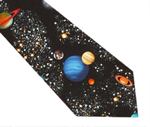 Astronomy Cotton Necktie