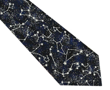 Most of our fun cotton print waistcoat fabrics can be used to make a matching tie, hand made especially for you by Tom Sawyer in Devon. - - Style- Self-tie Necktie- Colour- Glow in the dark stars on a navy background- Fabric- Printed Cotton -