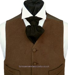Featured Neckwear - Brown & Black Pattern Day Cravat