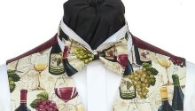 Wine Lovers Pre-Tied Bowtie