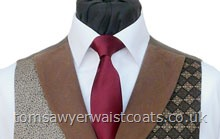 Featured Neckwear -  Satin Necktie