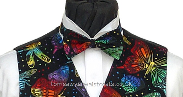 Dragonflies and other insects Pre-Tied Bowtie