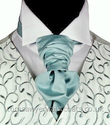 Order the featured neckwear here or, to choose a different style, select a neckwear category from the menu. Our picture shows the following:- Style- Pre-Tied Scrunchie- Colour- Misty Green- Fabric- Satin- Save 15% when you order 6 or more men's scrunchie ties in the same colour & fabric!