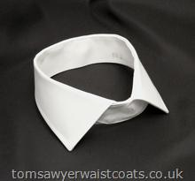 Soft Detachable Standard Collar in White