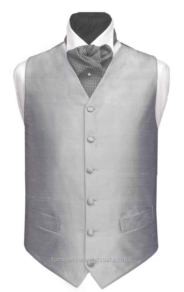 Silk Waistcoats : Plain Silk Waistcoats : Plain Silk Waistcoat - non Silk back and linings Available in over 30 silk colours