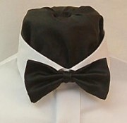Ready Tied Bow Tie in a choice of 57 colours with matching hankie