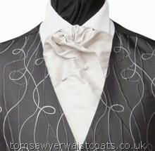 Men's Self Tie Cravat available in a choice of over 50 colours